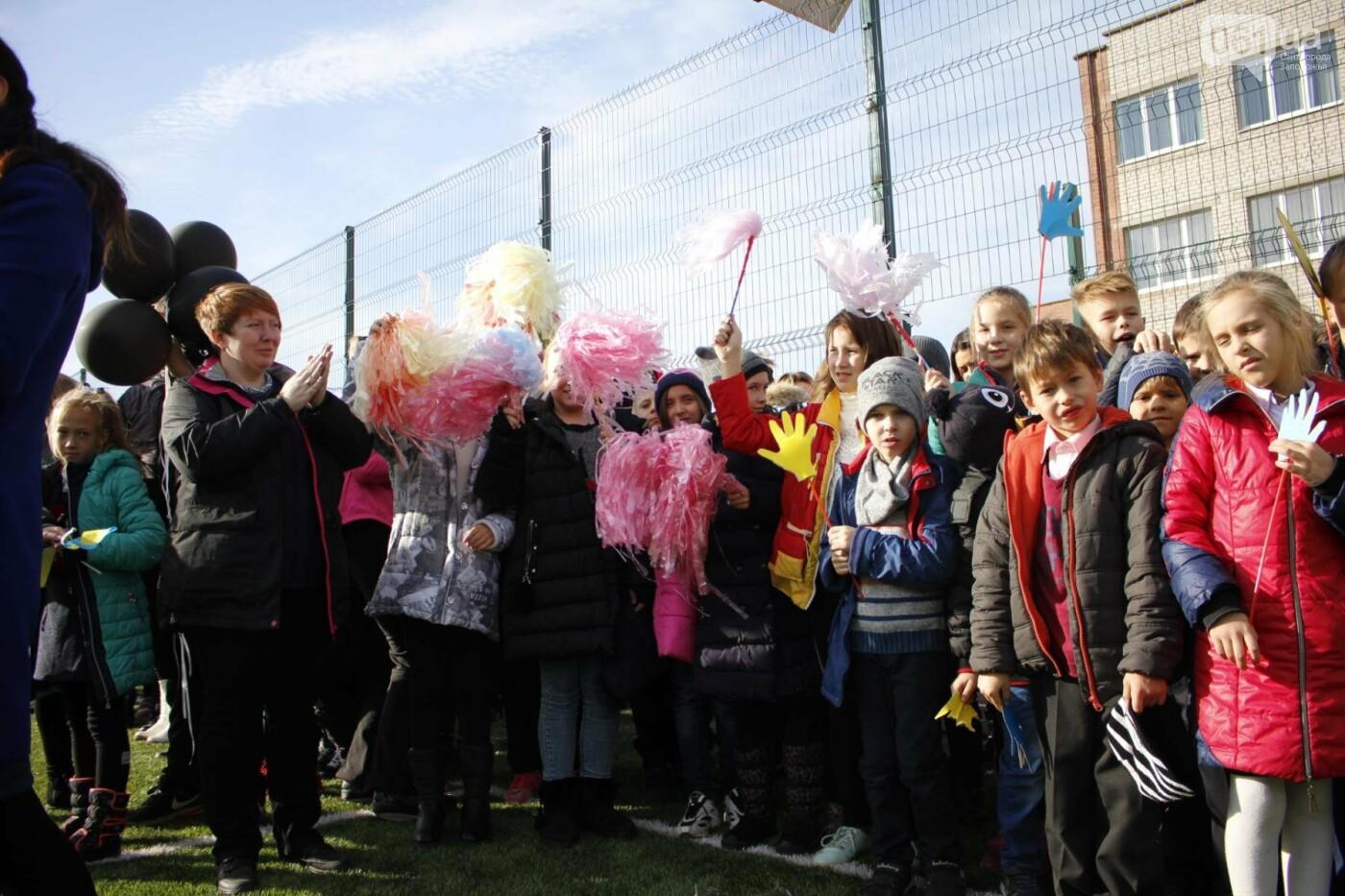 В Бородинском микрорайоне открыли школьный стадион: как это выглядит, - ФОТОРЕПОРТАЖ, фото-13