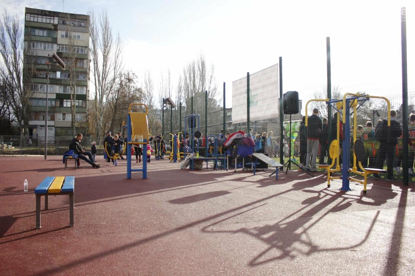 В Бородинском микрорайоне открыли школьный стадион: как это выглядит, - ФОТОРЕПОРТАЖ, фото-15