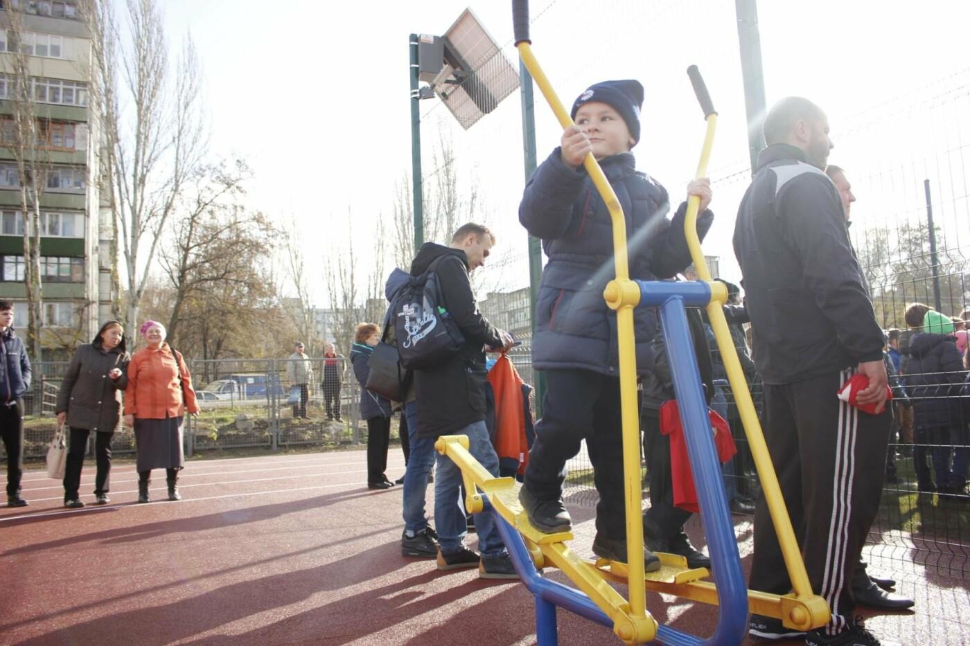 В Бородинском микрорайоне открыли школьный стадион: как это выглядит, - ФОТОРЕПОРТАЖ, фото-7