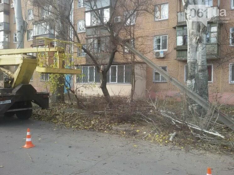 В Запорожье коммунальный ЗИЛ врезался в электроопору, - ФОТО, фото-3