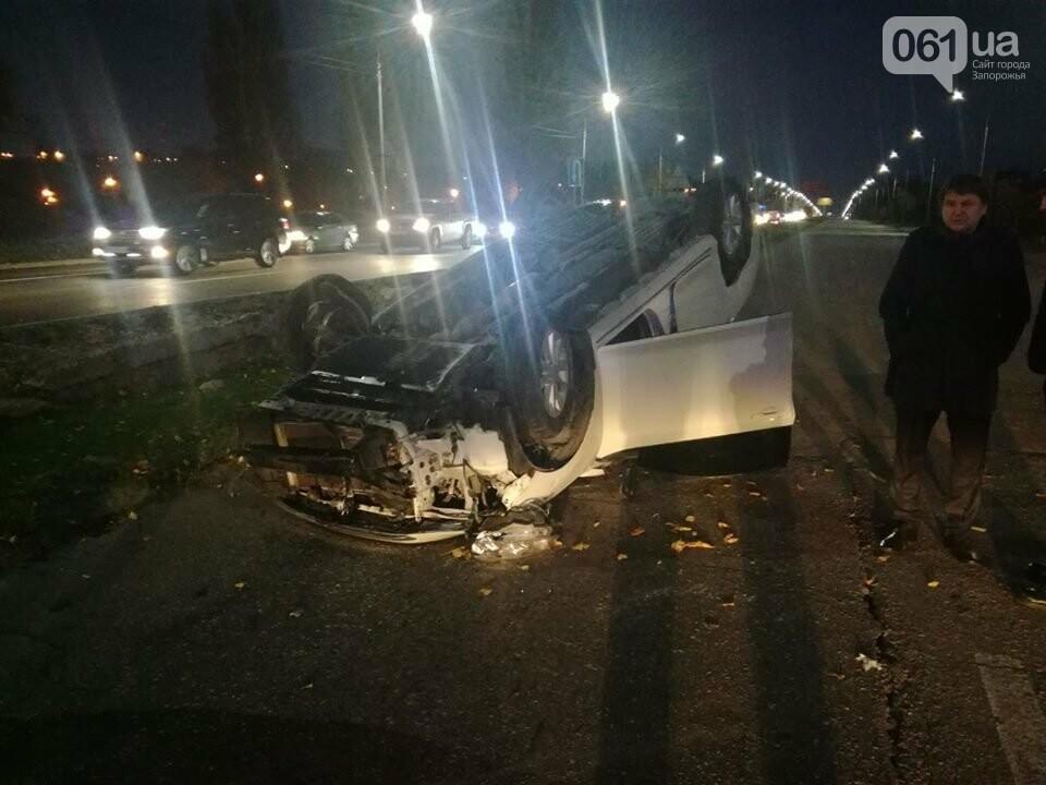 В центре Запорожья столкнулись три авто: Toyota перевернулась, - ФОТО, фото-5
