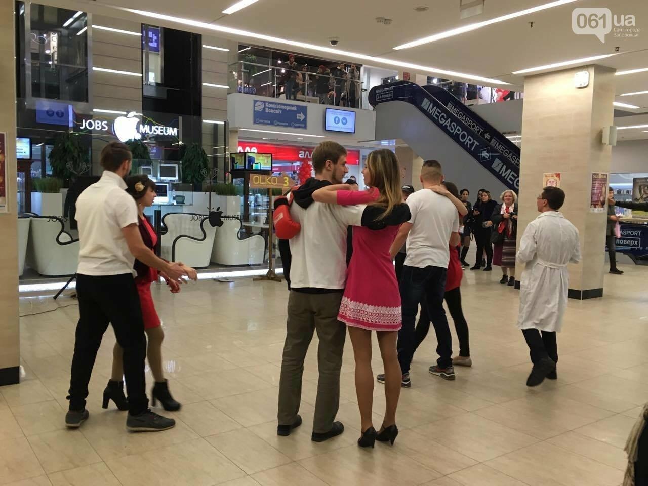 В запорожском торговом центре провели флешмоб против курения, - ФОТО, ВИДЕО, фото-5