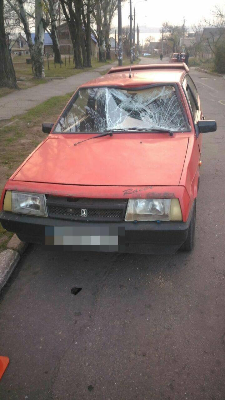 В Запорожье на Кичкасе машина сбила подростка: мальчик в больнице, - ФОТО, фото-1