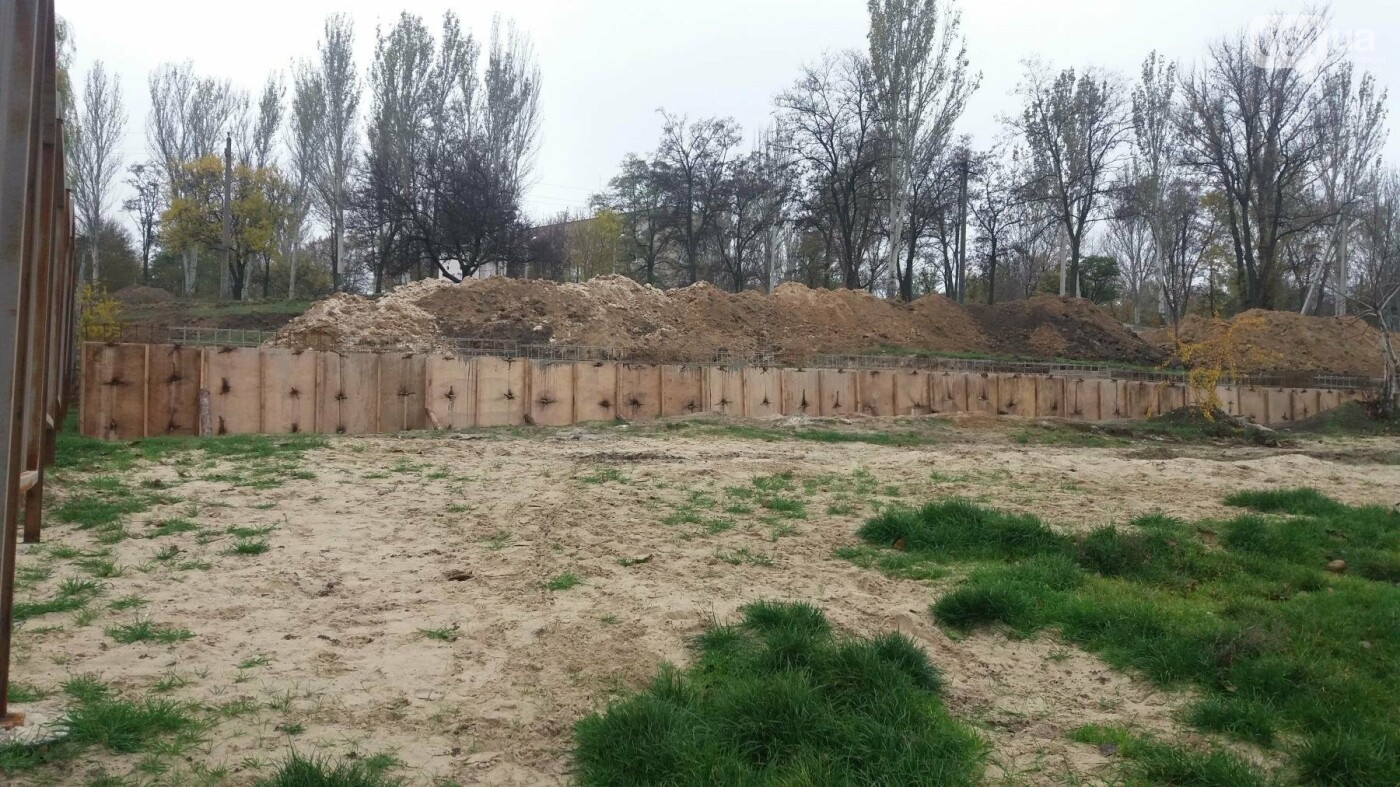 «Работа заглохла ещё в сентябре»: в Запорожье уже два месяца «стоит» реконструкция пляжа в Заводском районе, – ФОТОРЕПОРТАЖ, фото-4