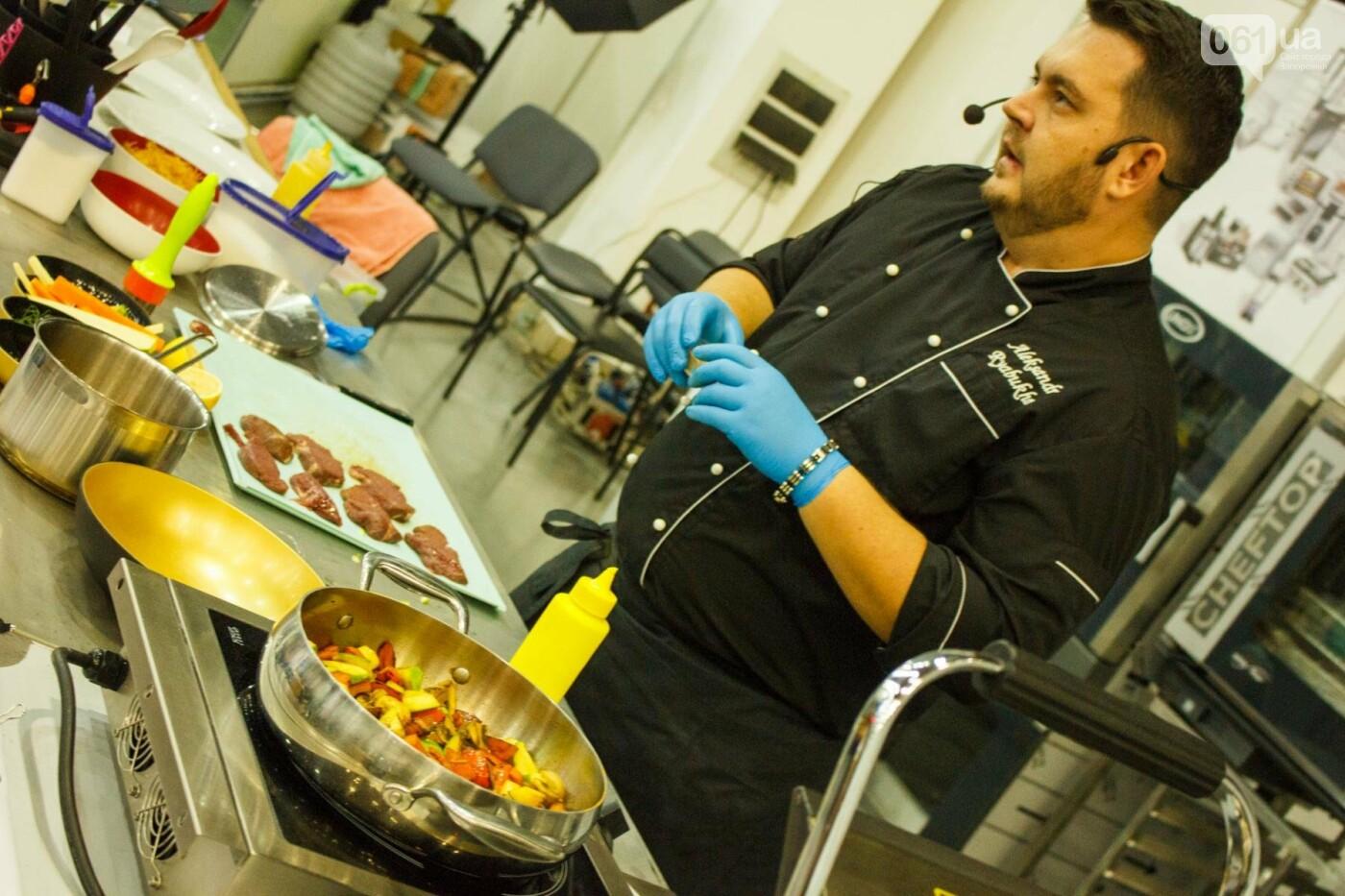 Шеф-повара запорожских ресторанов провели мастер-класс для горожан: как это было, - ФОТОРЕПОРТАЖ, фото-72