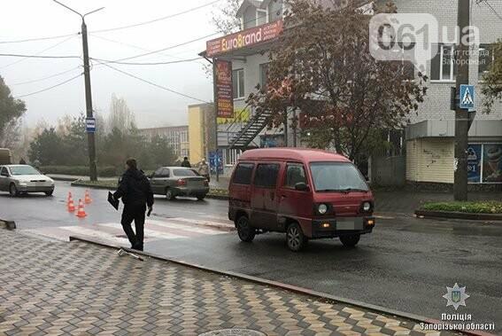 В Запорожской области на переходе машина сбила мальчика: ребенок в больнице, - ФОТО, фото-1