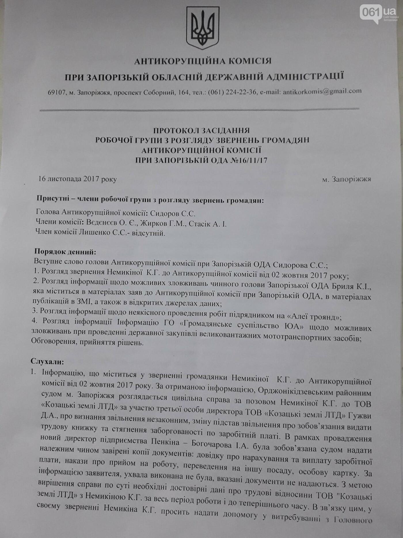 Запорожский губернатор распустил Антикоррупционную комиссию, которая попросила прокуратуру его проверить, фото-2