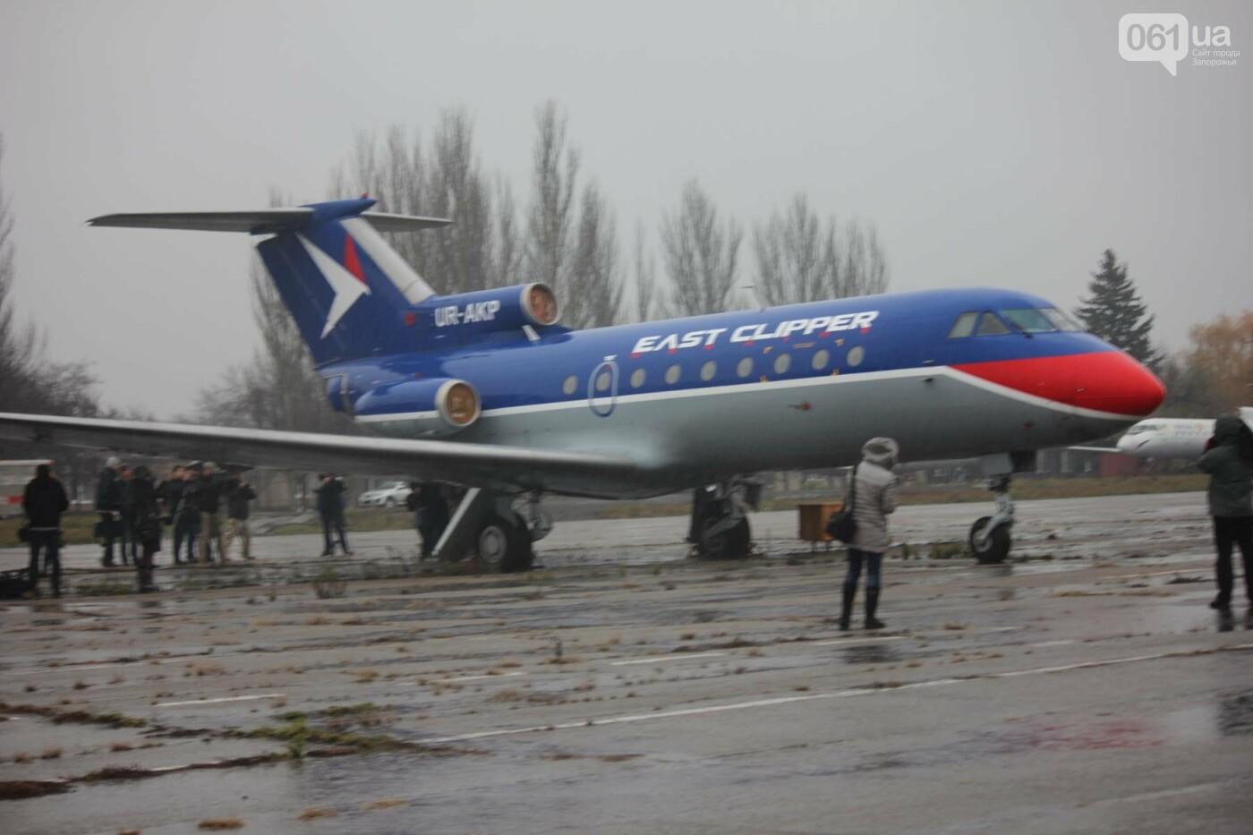 В Запорожье конфискованный самолет ЯК-40 отдали для обучения студентов летной академии, — ФОТОРЕПОРТАЖ, фото-1