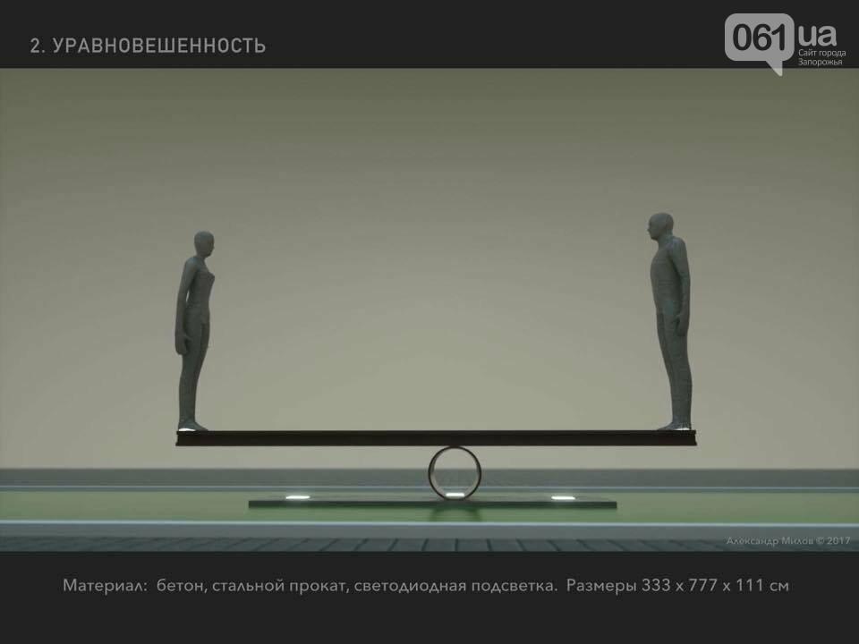 """""""Умный зритель  - не наш клиент"""" -    архитектор прокомментировал свой проект монумента в Запорожье, фото-6"""