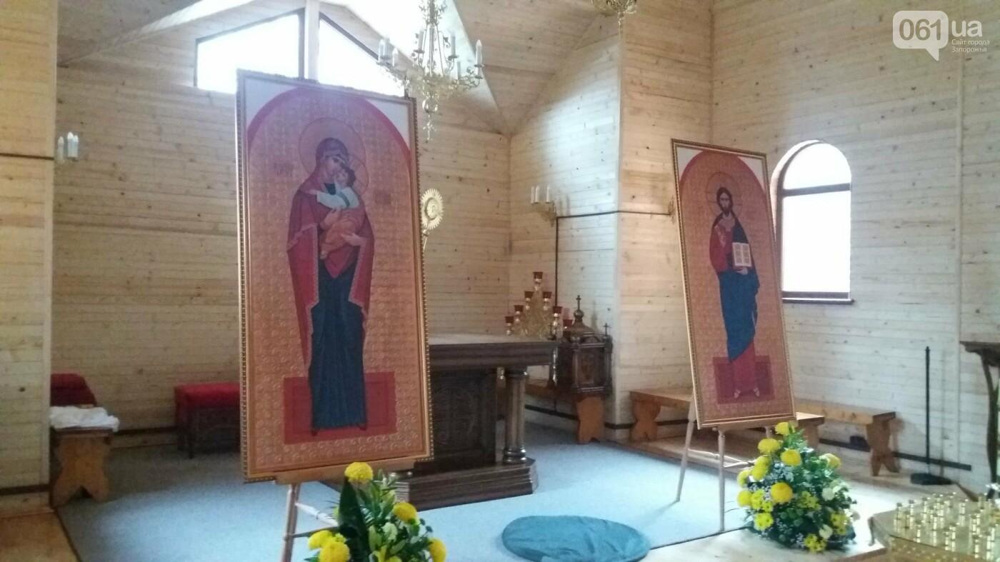 В Запорожье возле ДК «ЗалК» построили греко-католический храм: сегодня состоится открытие, — ФОТОРЕПОРТАЖ, фото-6