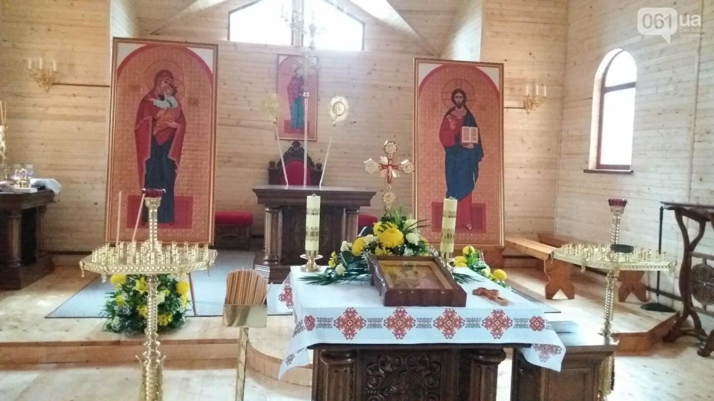 В Запорожье возле ДК «ЗалК» построили греко-католический храм: сегодня состоится открытие, — ФОТОРЕПОРТАЖ, фото-7