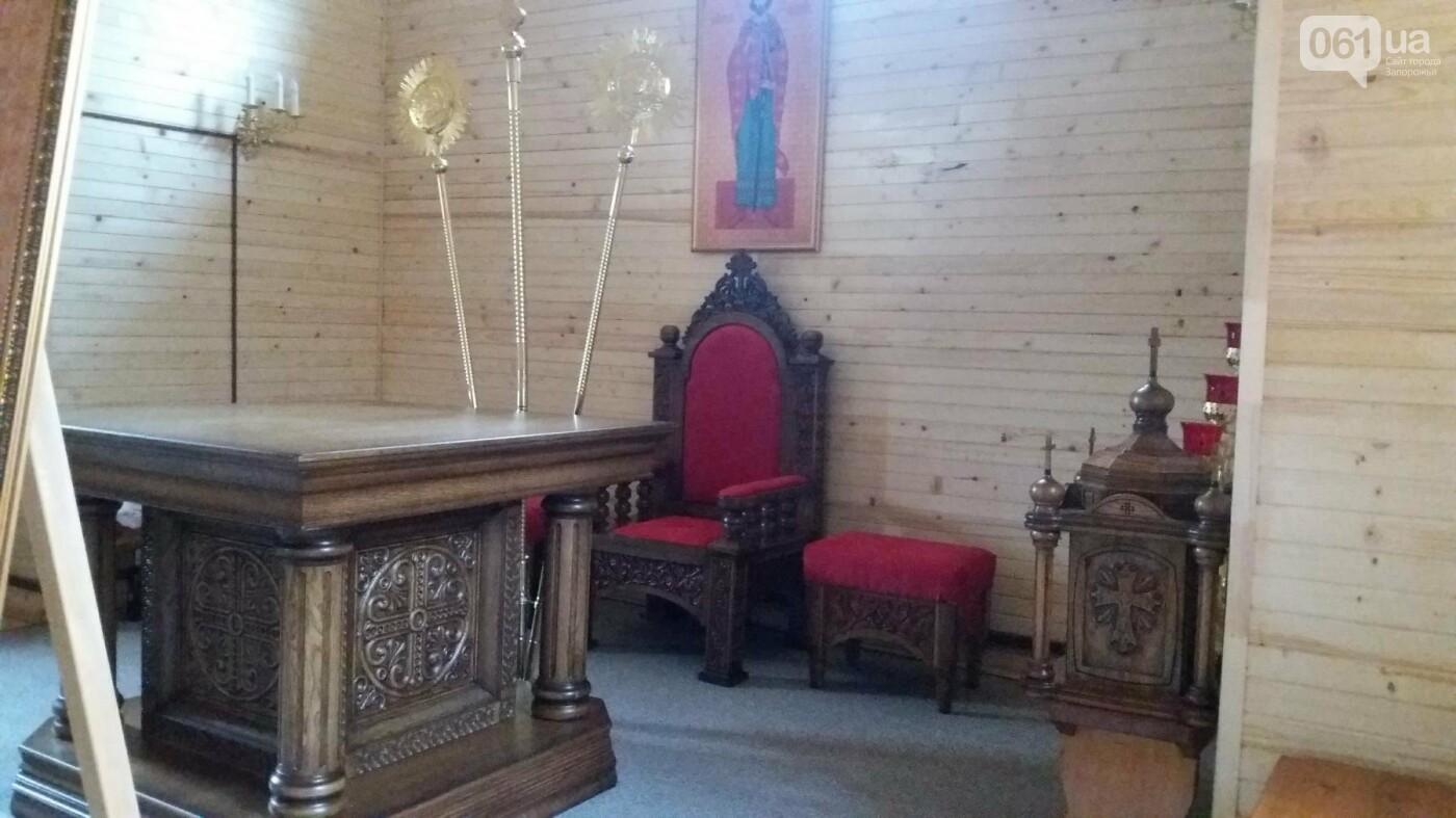 В Запорожье возле ДК «ЗалК» построили греко-католический храм: сегодня состоится открытие, — ФОТОРЕПОРТАЖ, фото-8