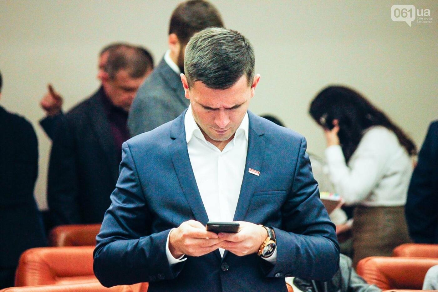 Сессия запорожского горсовета в лицах, - ФОТОРЕПОРТАЖ, фото-30