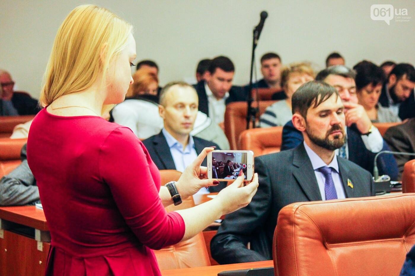 Сессия запорожского горсовета в лицах, - ФОТОРЕПОРТАЖ, фото-35