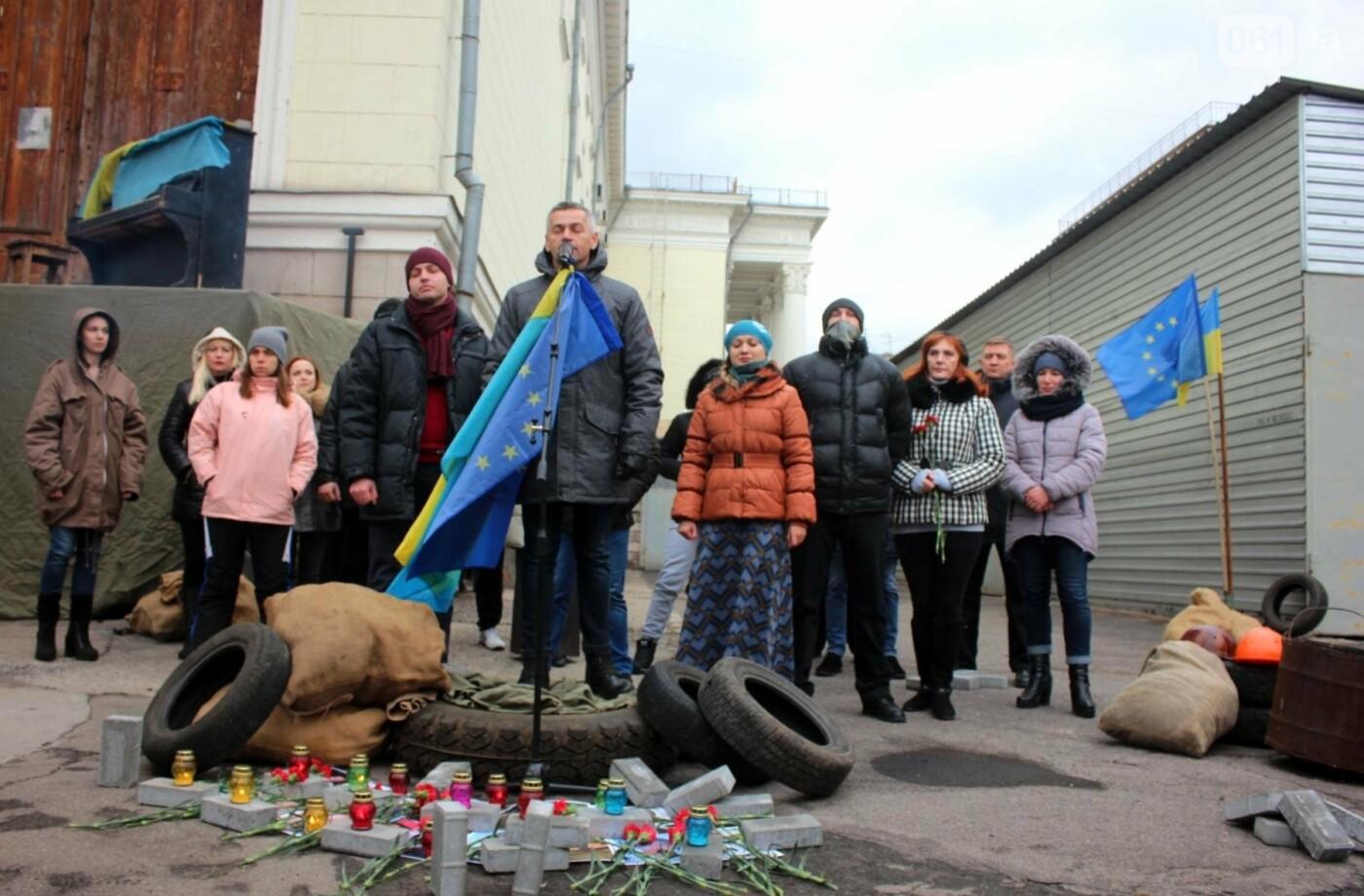 В Запорожье актеры на улице читали стихи о Майдане, - ФОТОРЕПОРТАЖ, фото-5
