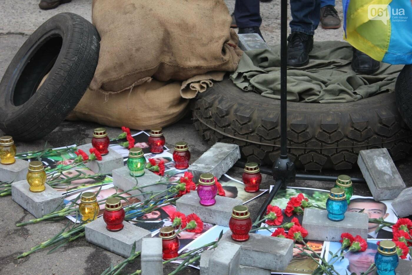 В Запорожье актеры на улице читали стихи о Майдане, - ФОТОРЕПОРТАЖ, фото-16