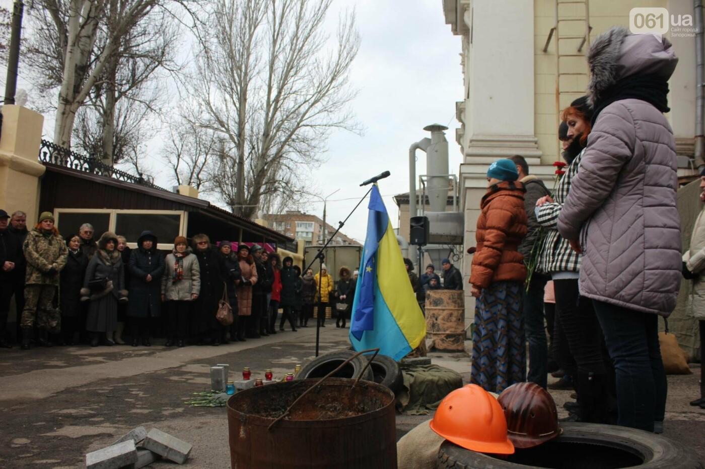 В Запорожье актеры на улице читали стихи о Майдане, - ФОТОРЕПОРТАЖ, фото-1