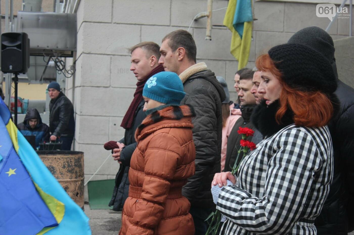 В Запорожье актеры на улице читали стихи о Майдане, - ФОТОРЕПОРТАЖ, фото-8