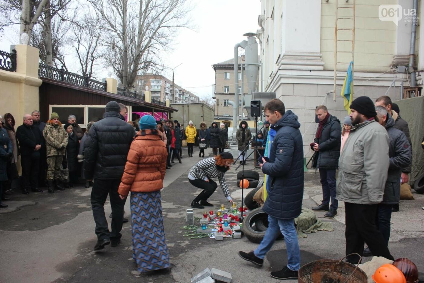 В Запорожье актеры на улице читали стихи о Майдане, - ФОТОРЕПОРТАЖ, фото-14