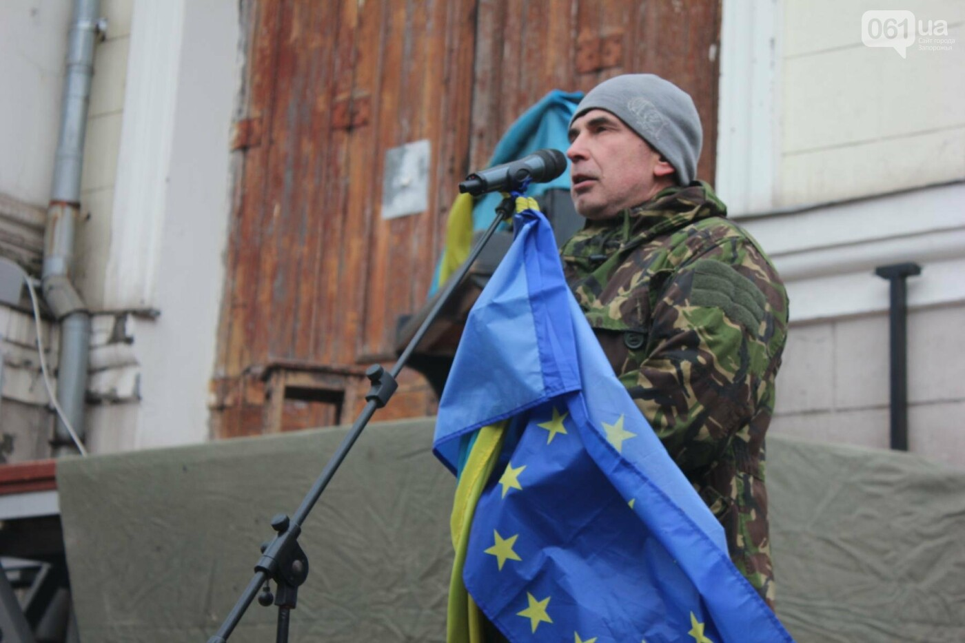 В Запорожье актеры на улице читали стихи о Майдане, - ФОТОРЕПОРТАЖ, фото-2