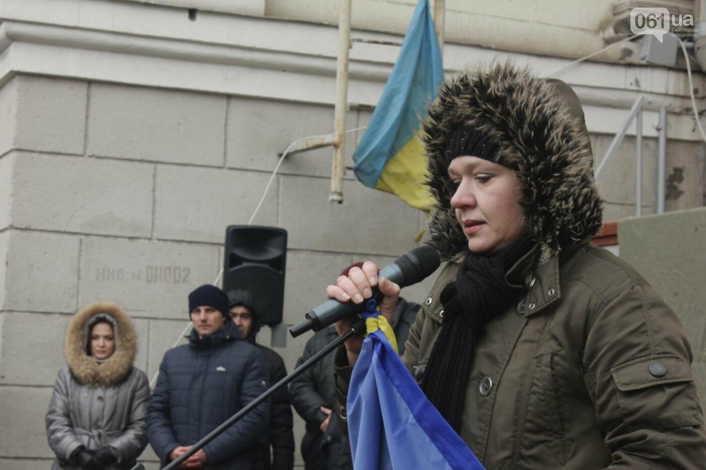 В Запорожье актеры на улице читали стихи о Майдане, - ФОТОРЕПОРТАЖ, фото-4