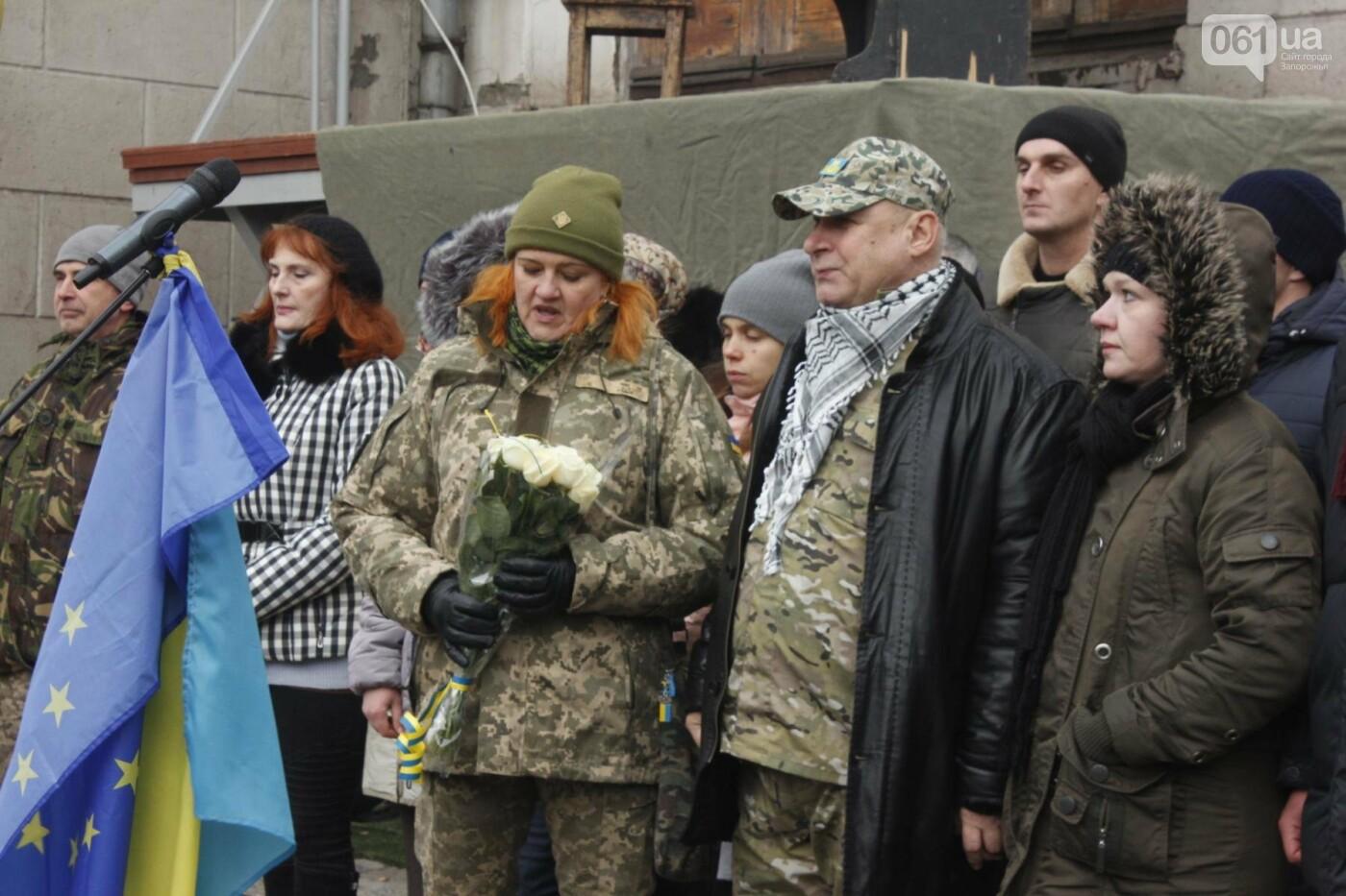 В Запорожье актеры на улице читали стихи о Майдане, - ФОТОРЕПОРТАЖ, фото-18