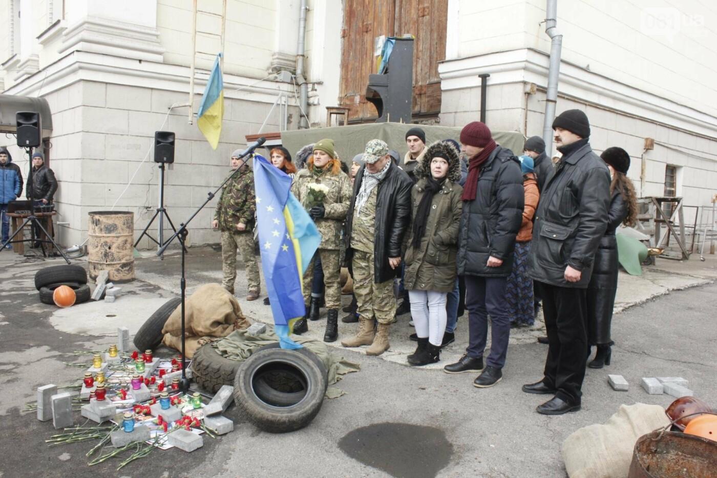 В Запорожье актеры на улице читали стихи о Майдане, - ФОТОРЕПОРТАЖ, фото-15