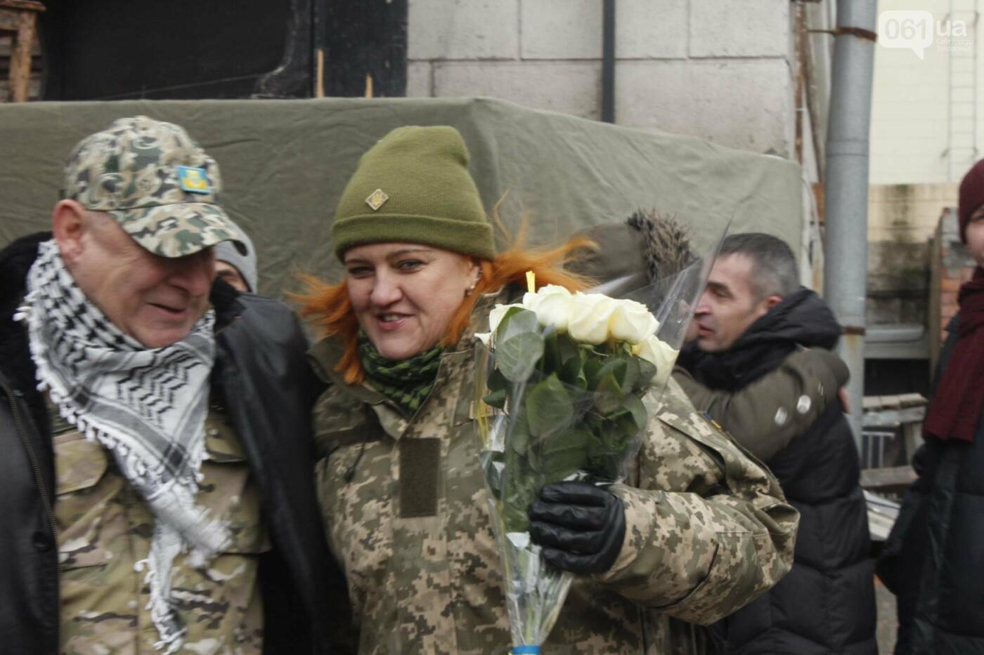 В Запорожье актеры на улице читали стихи о Майдане, - ФОТОРЕПОРТАЖ, фото-20