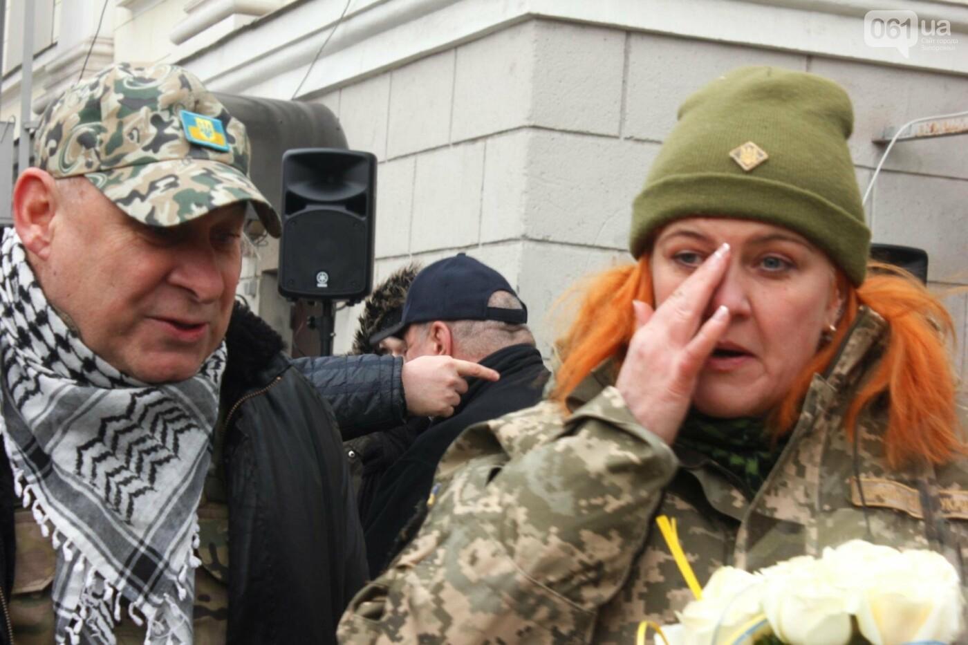 В Запорожье актеры на улице читали стихи о Майдане, - ФОТОРЕПОРТАЖ, фото-19