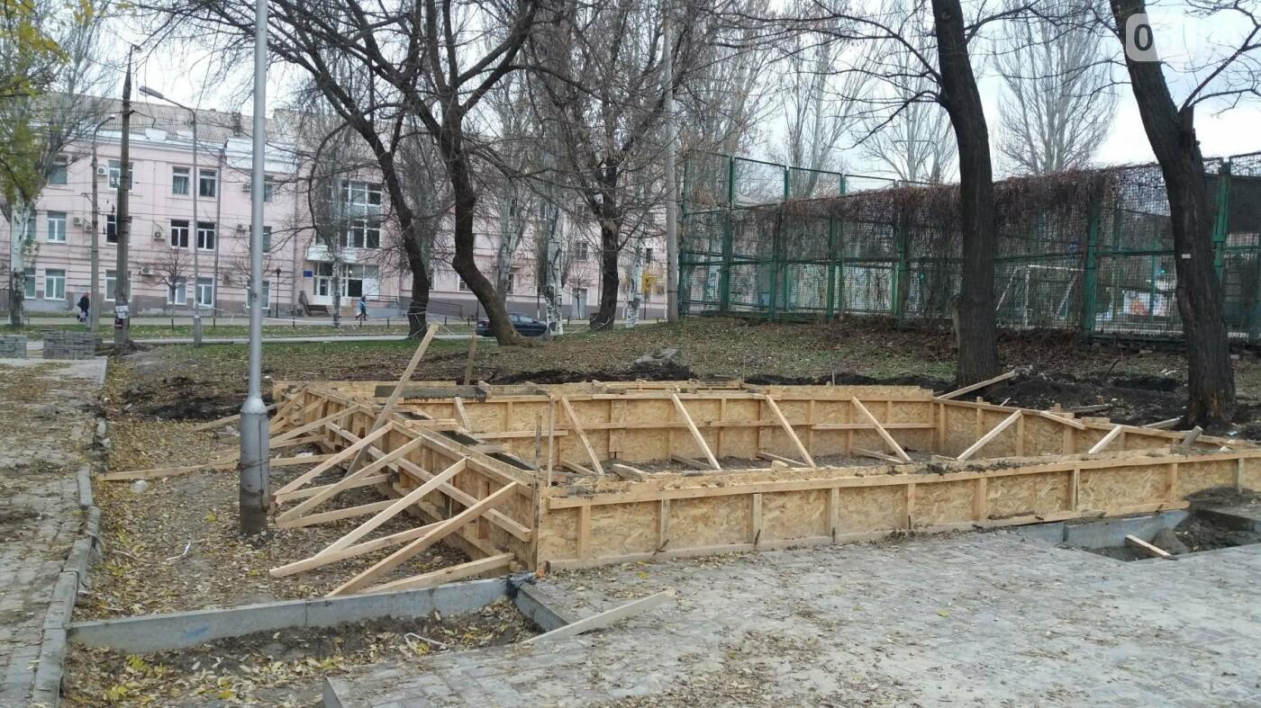 В Запорожье подрядчики разрушили бетономешалкой уже отремонтированный тротуар, – ФОТОРЕПОРТАЖ, фото-4