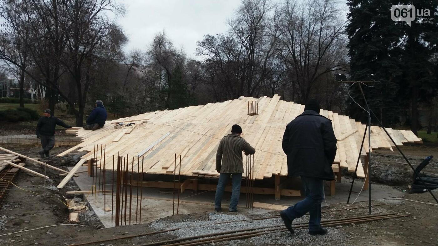 В Запорожье строят памятник ликвидаторам аварии на ЧАЭС: что уже успели сделать, — ФОТОРЕПОРТАЖ, фото-9