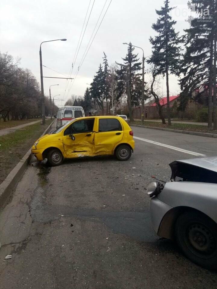 "В Запорожье столкнулись два ""Daewoo"", - ФОТО, фото-2"