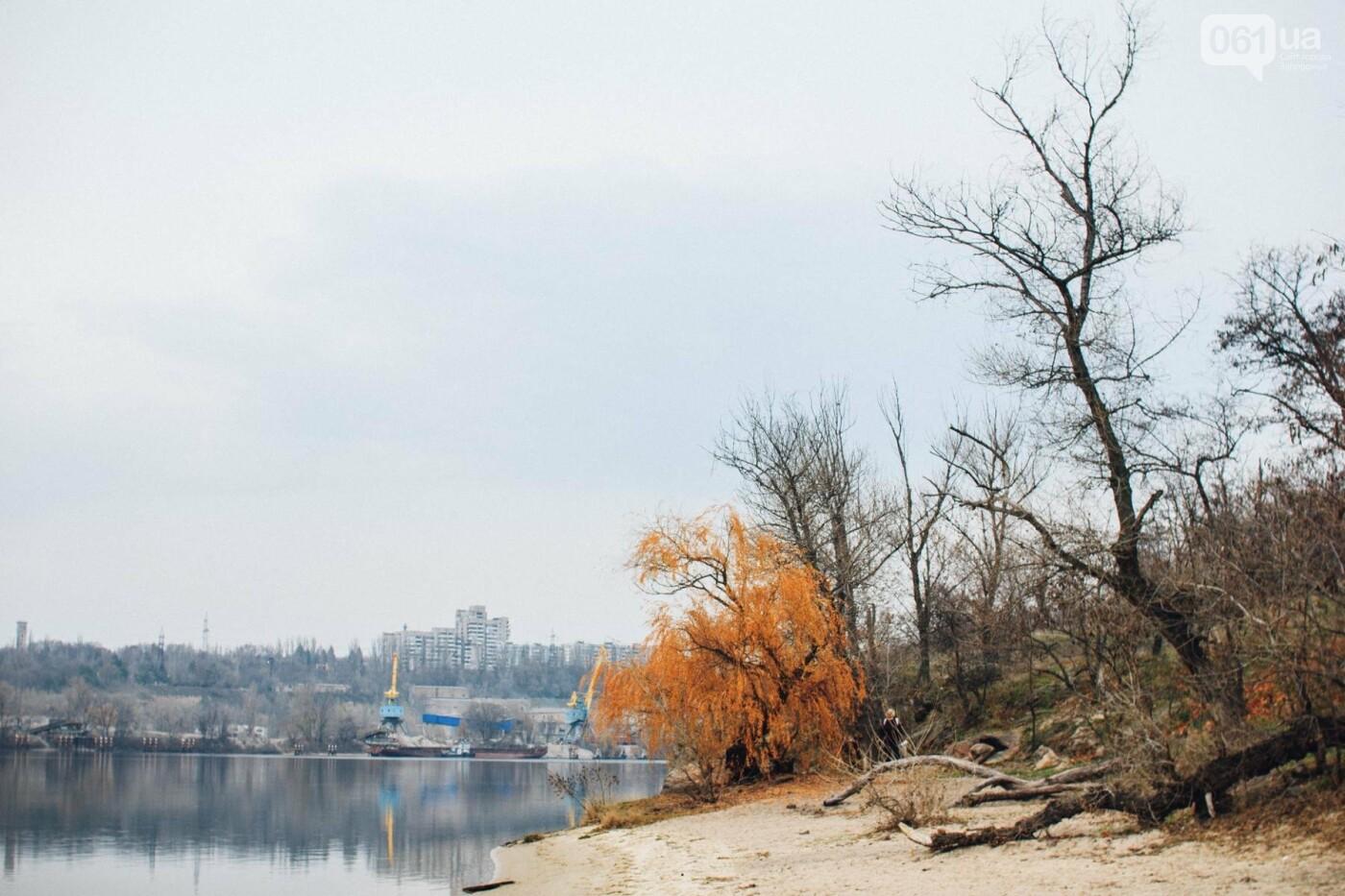Четыре дня до зимы: как выглядит Хортица поздней осенью, - ФОТОРЕПОРТАЖ, фото-17