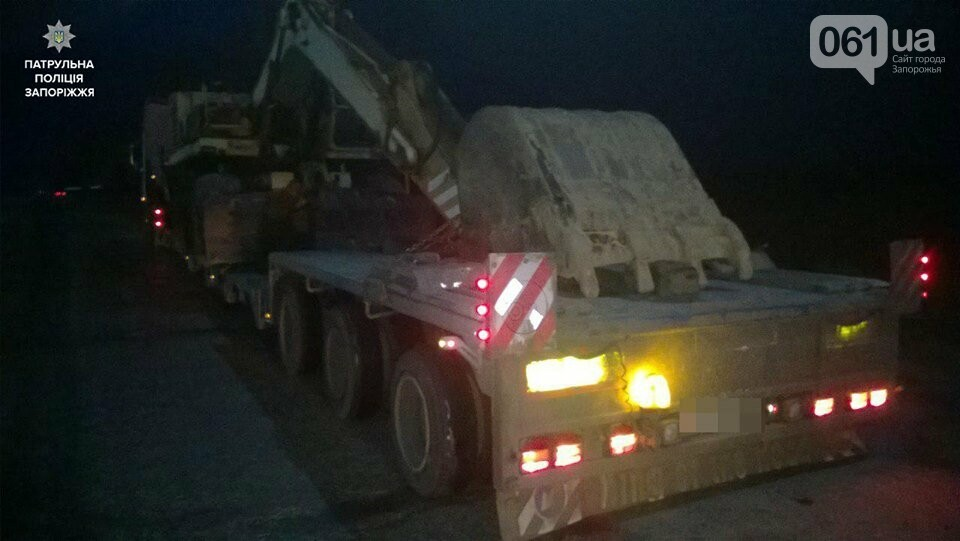 На Запорожской трассе водитель грузовика нарушил одно и то же правило в 32-й раз, - ФОТО, фото-1