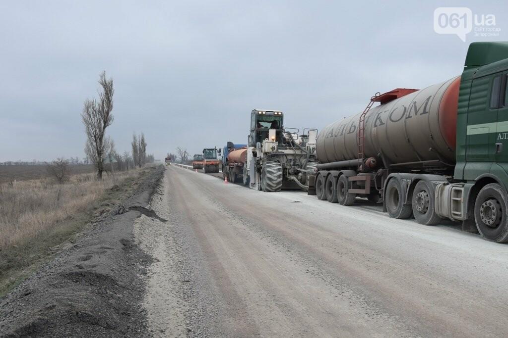 Как ремонтируют трассу «Запорожье - Мариуполь», — ФОТОРЕПОРТАЖ, фото-3