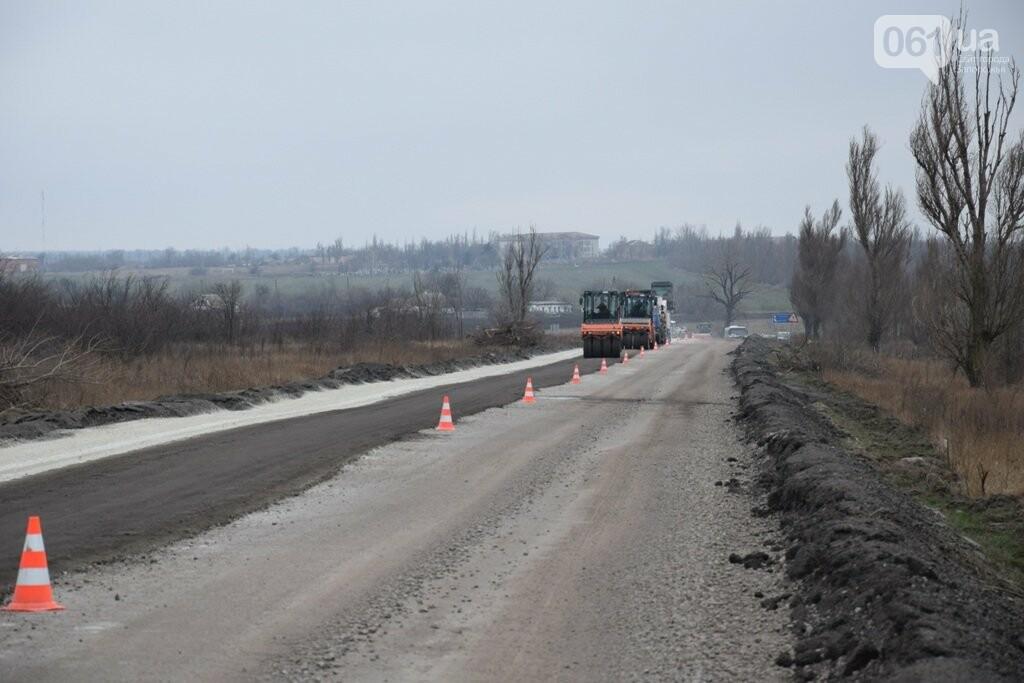 Как ремонтируют трассу «Запорожье - Мариуполь», — ФОТОРЕПОРТАЖ, фото-2