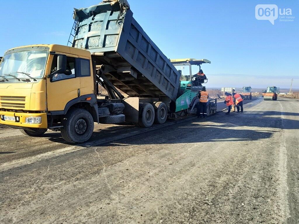 Как ремонтируют трассу «Запорожье - Мариуполь», — ФОТОРЕПОРТАЖ, фото-7