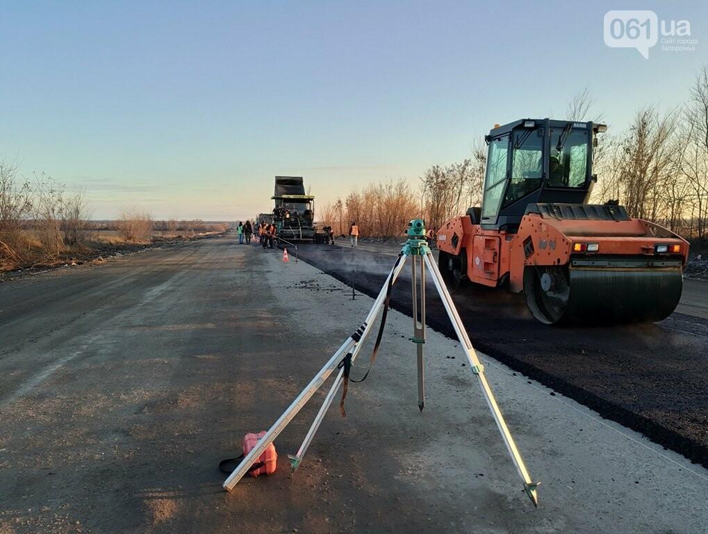 Как ремонтируют трассу «Запорожье - Мариуполь», — ФОТОРЕПОРТАЖ, фото-5
