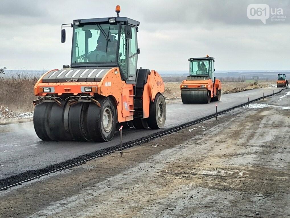 Как ремонтируют трассу «Запорожье - Мариуполь», — ФОТОРЕПОРТАЖ, фото-6
