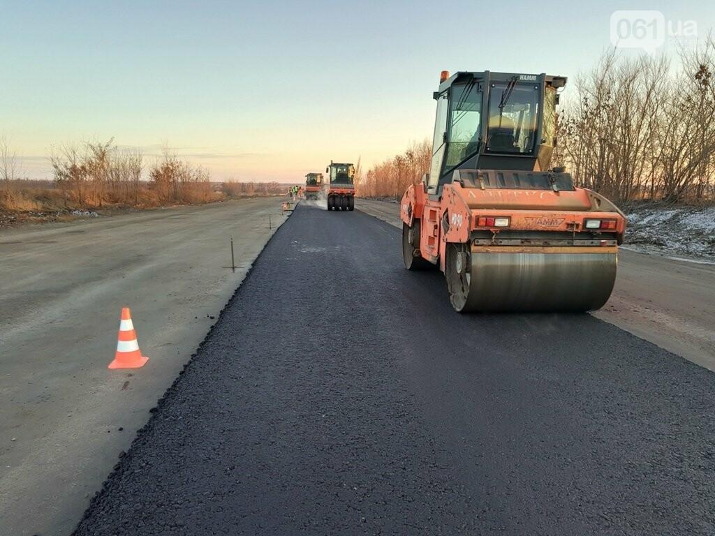 Как ремонтируют трассу «Запорожье - Мариуполь», — ФОТОРЕПОРТАЖ, фото-8
