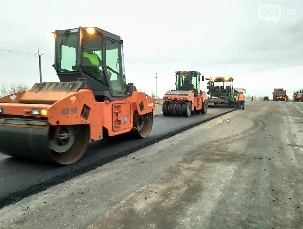 Как ремонтируют трассу «Запорожье - Мариуполь», — ФОТОРЕПОРТАЖ, фото-4