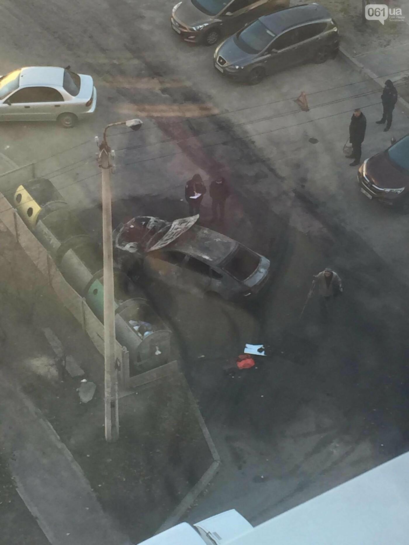 В Запорожье на Южном сгорели три автомобиля, — ФОТО, ВИДЕО (обновлено), фото-4