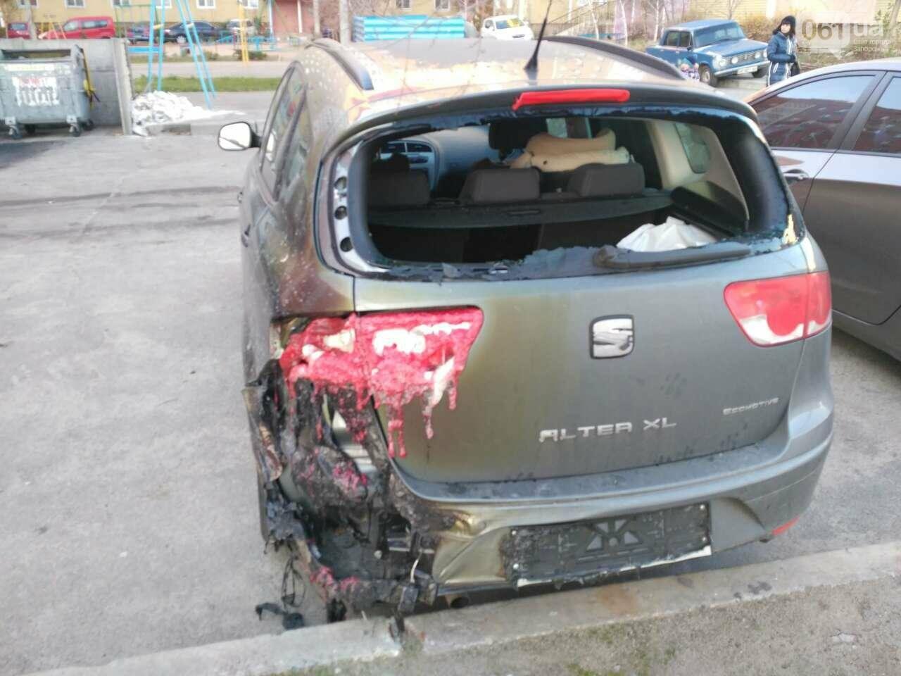 В Запорожье на Южном сгорели три автомобиля, — ФОТО, ВИДЕО (обновлено), фото-3