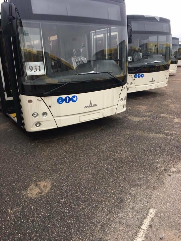 Первые большие автобусы приехали в Запорожье, но до запуска еще далеко, фото-1