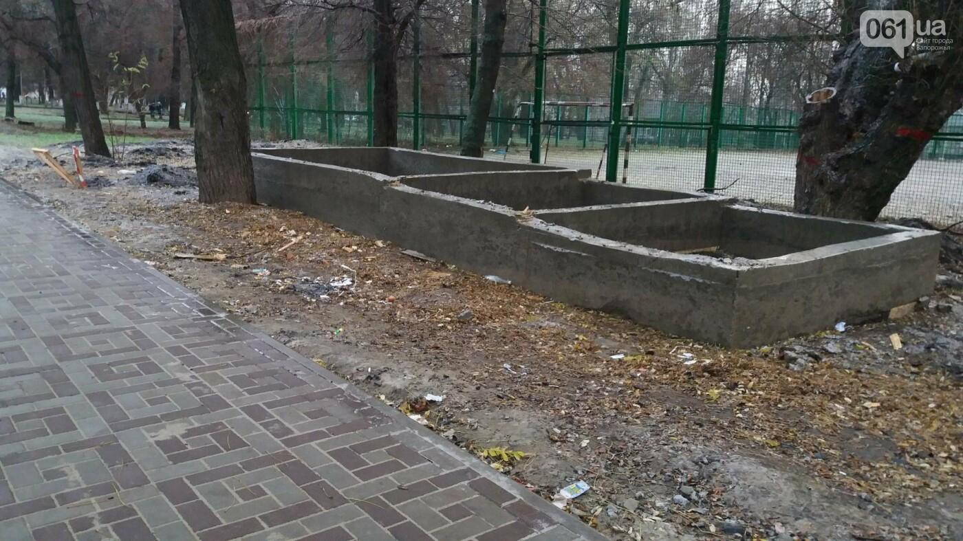 После скандала в СМИ подрядчики восстановили разрушенный бетономешалкой плиточный тротуар, — ФОТОРЕПОРТАЖ, фото-10
