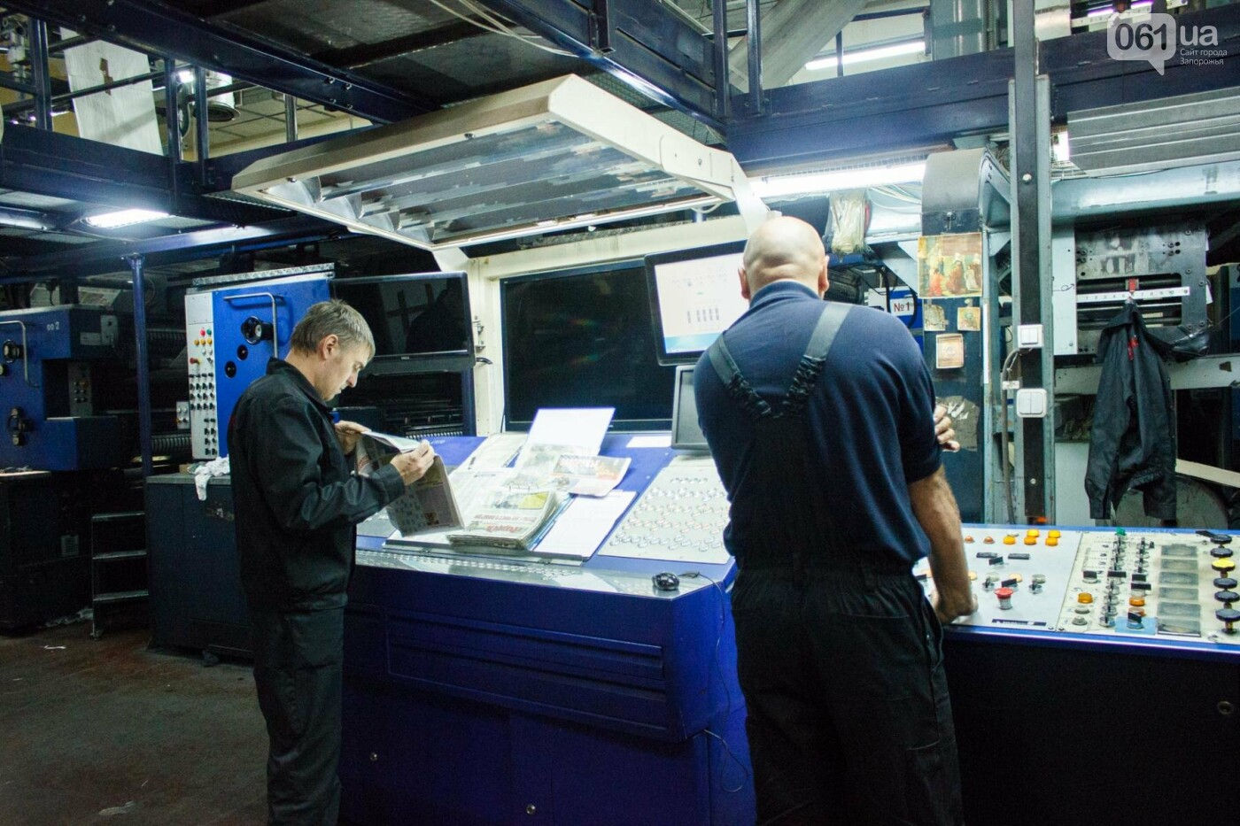 Как в Запорожье печатают газеты: экскурсия в типографию, - ФОТО, ВИДЕО, фото-21