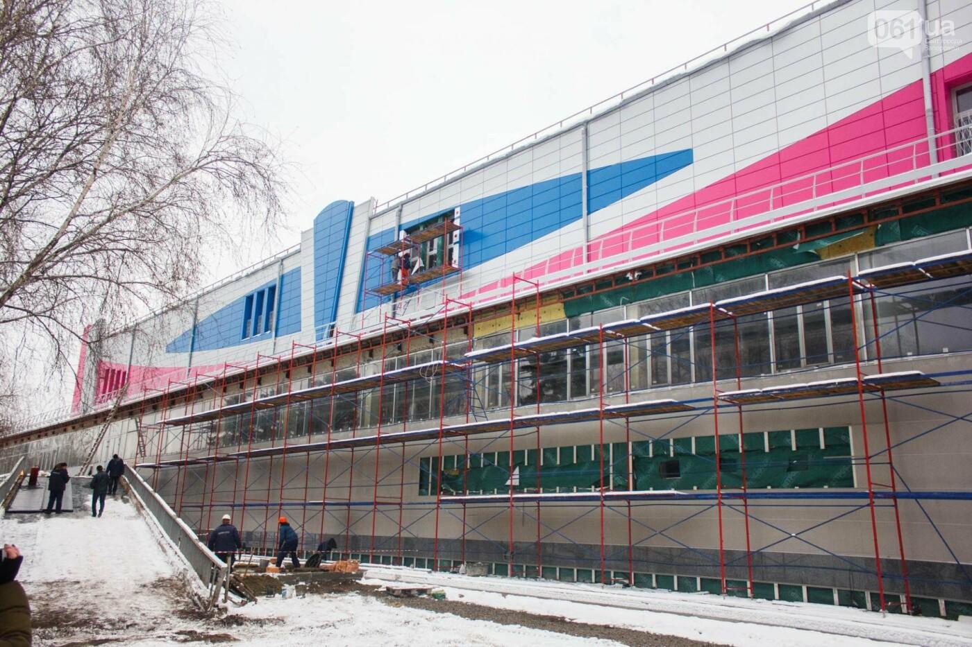 """В Запорожье подходит к концу реконструкция """"Юности"""": что сделали за 11 месяцев работы, — ФОТОРЕПОРТАЖ, фото-14"""