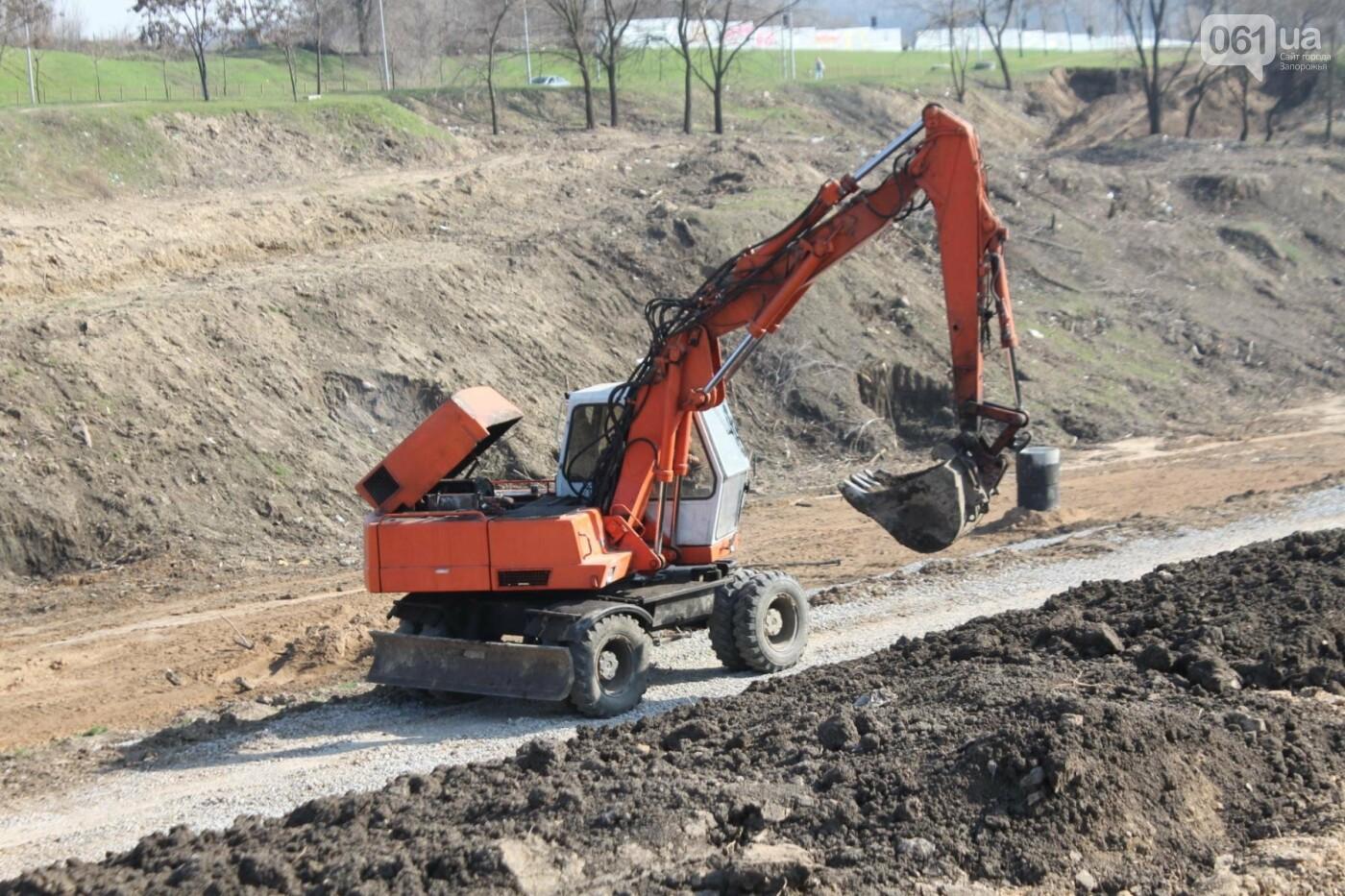 В Запорожье продолжают строить новый парк возле Радуги: что уже сделали подрядчики, – ФОТОРЕПОРТАЖ, фото-2