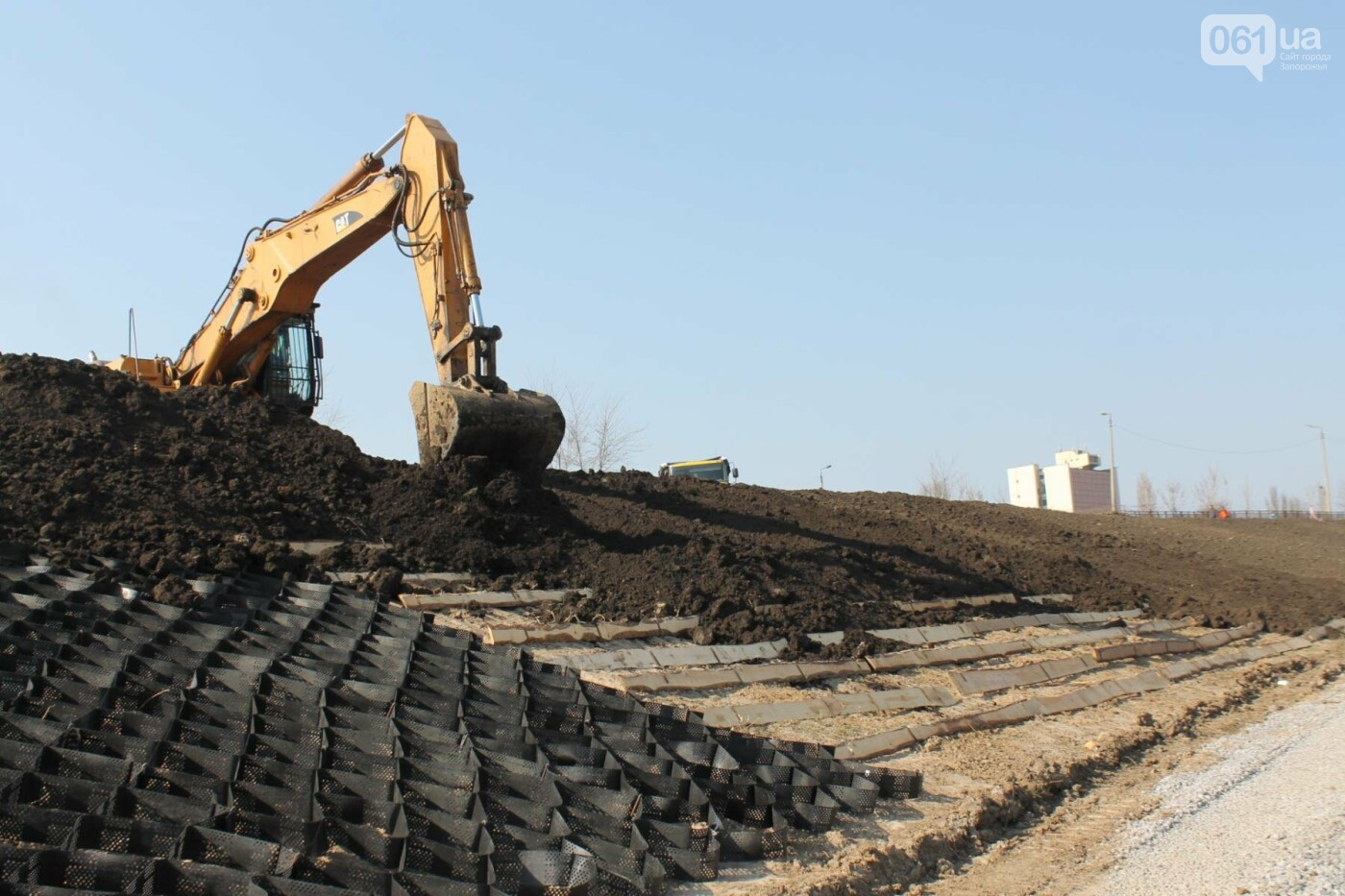 В Запорожье продолжают строить новый парк возле Радуги: что уже сделали подрядчики, – ФОТОРЕПОРТАЖ, фото-7