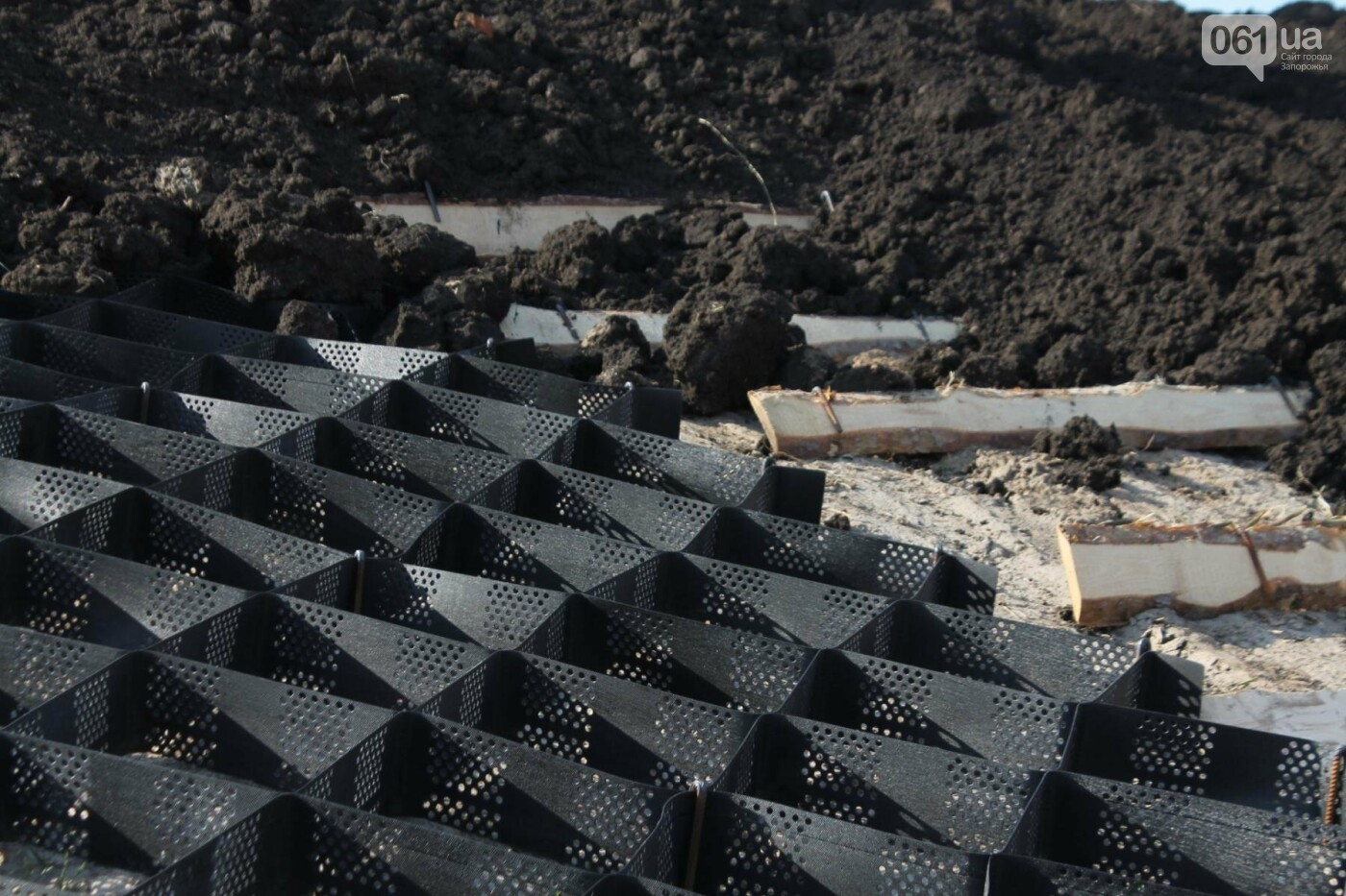 В Запорожье продолжают строить новый парк возле Радуги: что уже сделали подрядчики, – ФОТОРЕПОРТАЖ, фото-10